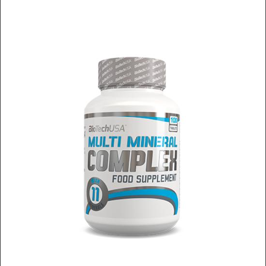 Nagyker BiotechUSA Multi Mineral Complex 100 tabletta