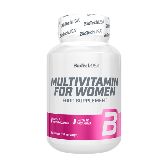 BiotechUSA Multivitamin for Women 60 tab