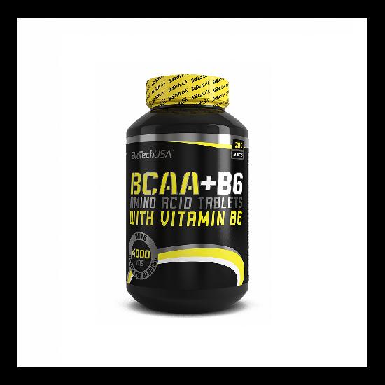 BiotechUSA BCAA+B6 200 tabletta