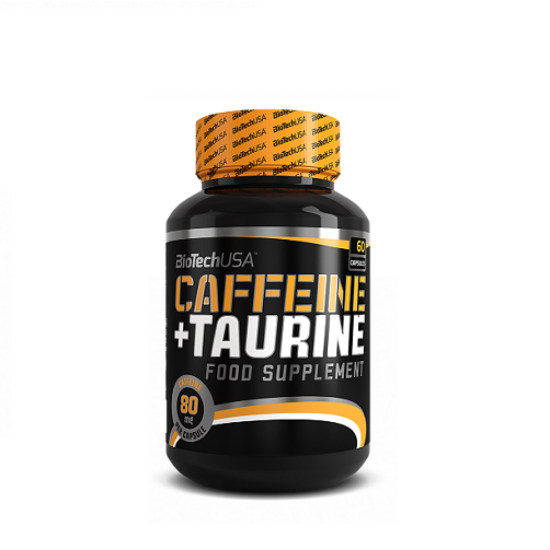 BiotechUSA Caffein + Taurin - 60 kapszula