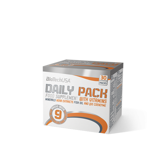 Nagyker BiotechUSA Daily Pack 30 adag
