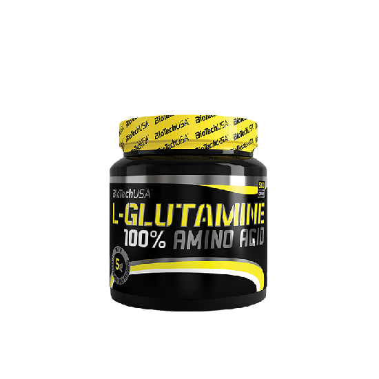 Nagyker BiotechUSA L-Glutamine 500g Izesitetlen
