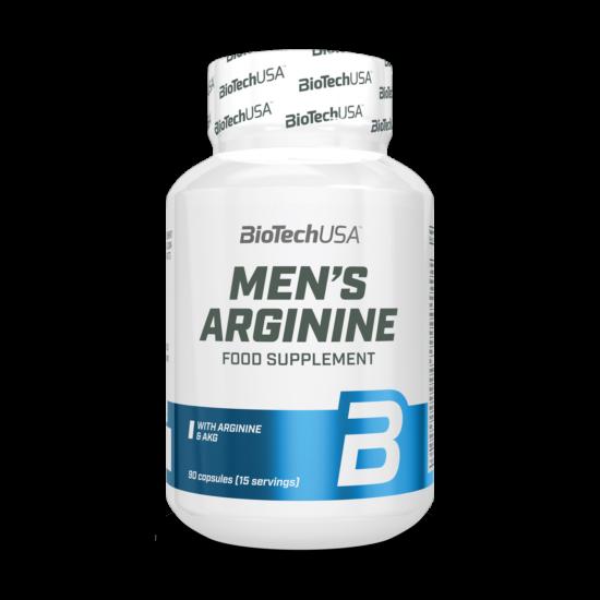 BiotechUSA Men's Arginine 90 tabletta