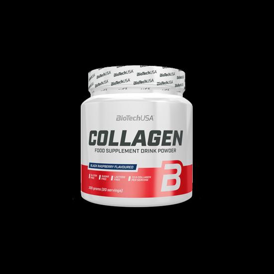 Biotech Collagen 300 g Fekete Malna