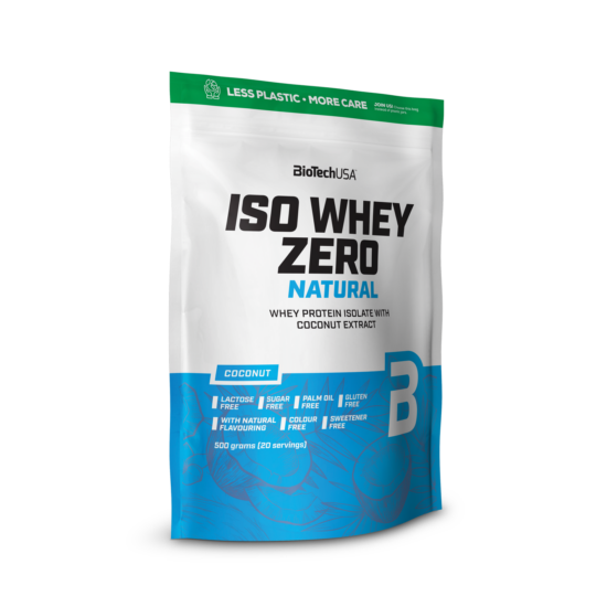 Biotechusa Iso Whey Zero Natural tejsavófehérje 500g
