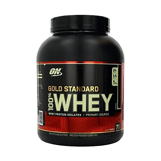 Optimum Nutrition Gold Standard 100% Whey - 2270g 2db (15990ft/db)