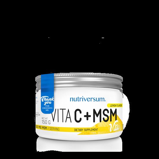 Nagyker C+MSM - 150 g - VITA - Nutriversum Citrom