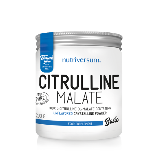 Citrulline Malate - 200 g - BASIC - Nutriversum