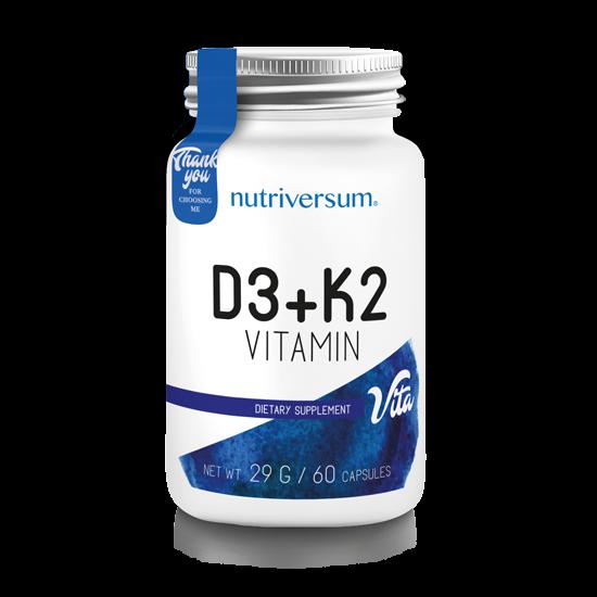 D3+K2 - 60 kapszula - VITA - Nutriversum
