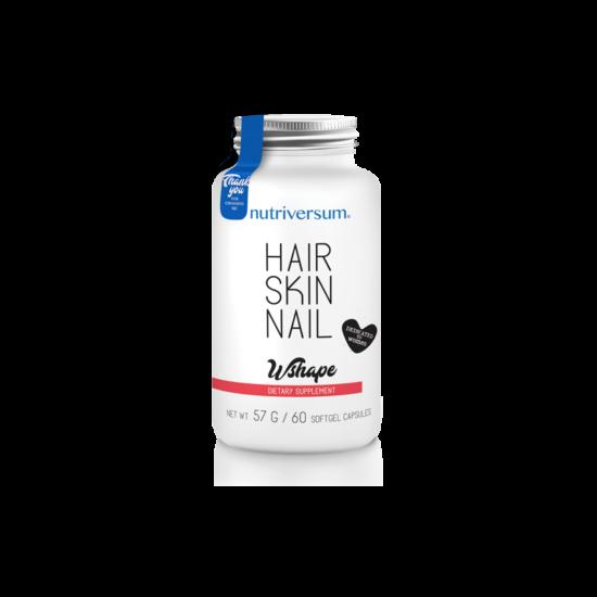 Nagyker Hair Skin Nail - 60 kapszula - WSHAPE - Nutriversum