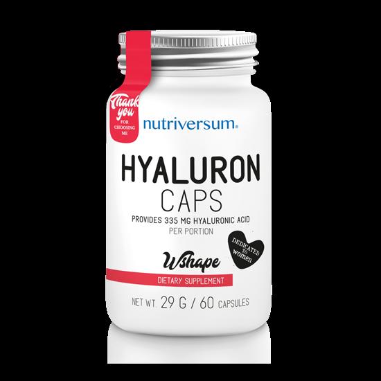 Nagyker Hyaluron - 60 kapszula - WSHAPE - Nutriversum