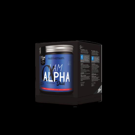 I am Alpha - 300 g - DARK - Nutriversum