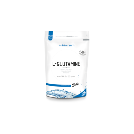 Nutriversum BASIC 100% L-Glutamine 500g Izesitetlen