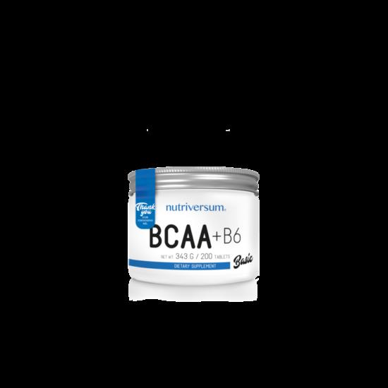 Nutriversum BASIC BCAA+B6 200 tabletta