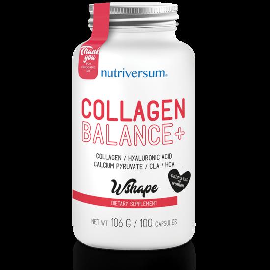 Nutriversum Collagen Balance+ WSHAPE - 100 kapszula