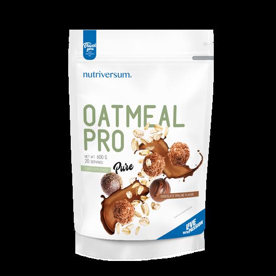 Nutriversum Oatmeal PRO PURE - 600g Csoki-Praliné