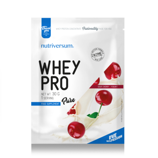 Nutriversum PURE Whey PRO 30g Meggy Joghurt