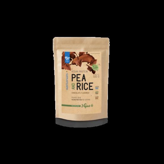 Nutriversum Pea & Rice Vegan Protein 500g Csoki