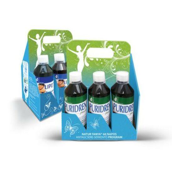 Natur Tanya® 60 napos Anyagcsere serkentő Program - Karcsúsító Ivókúra, lassú anyagcsere ellen.