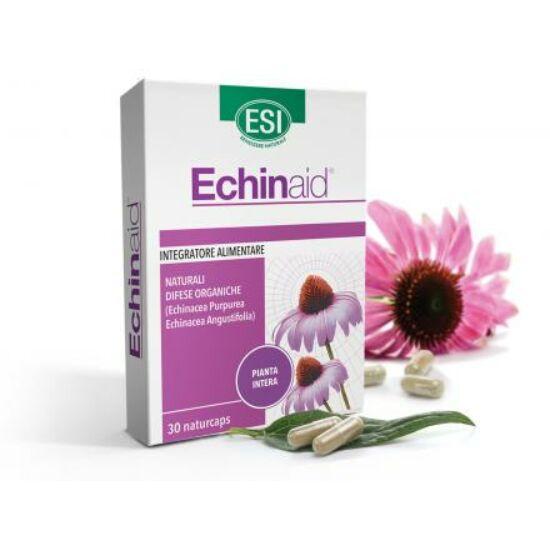 ESI® Echinacea kapszula - Koncentrált, nagy dózisú, és kétféle echinacea kivonat, virág, szár, levél, gyökér 30 db