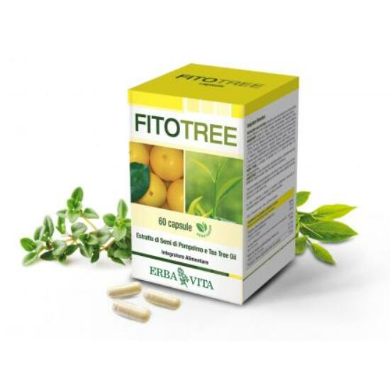 ErbaVita® FitoTree kapszula 60x - Mikrokapszulázással készült, a folyamatos hatóanyag leadásért.