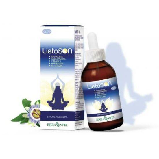 ErbaVita® LietoSON - alkoholmentes Relax csepp. Feszültség, idegesség, szorongás, pihentető mély alvás