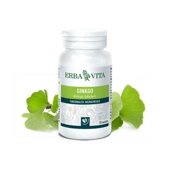 ErbaVita® Mikronizált Ginkgo biloba/Páfrányfenyő tabletta - Minden egyes tablettában 119 mg hatóanyagtartalom!
