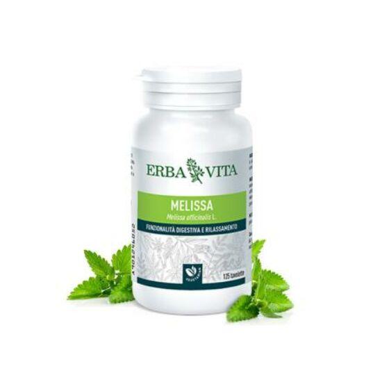 ErbaVita® Mikronizált Citromfű tabletta - Görcsoldó, idegnyugtató. Fejfájás, szorongás, pánikbetegségek és alvászavarok.