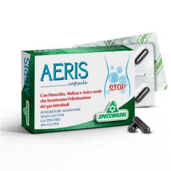 Specchiasol® AERIS kapszula - növényi szén, gyógynövények, illóolajok és mangán a jó emésztésért