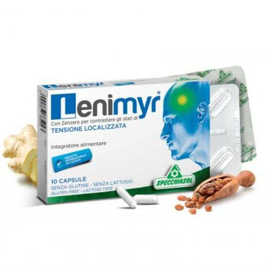 Specchiasol® Lenimyr – mirhagyanta, gyömbérgyökér és vízmentes koffein kapszula