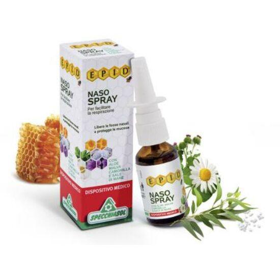 Specchiasol® Tengeri sós és propoliszos orrspray - EPID® szabadalommal védett, teljes propoliszt tartalmaz!