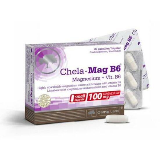 Olimp Labs® Szerves Magnézium+B6® vitamin - Világszabadalommal védett, sejtszinten felszívódó hatóanyag!