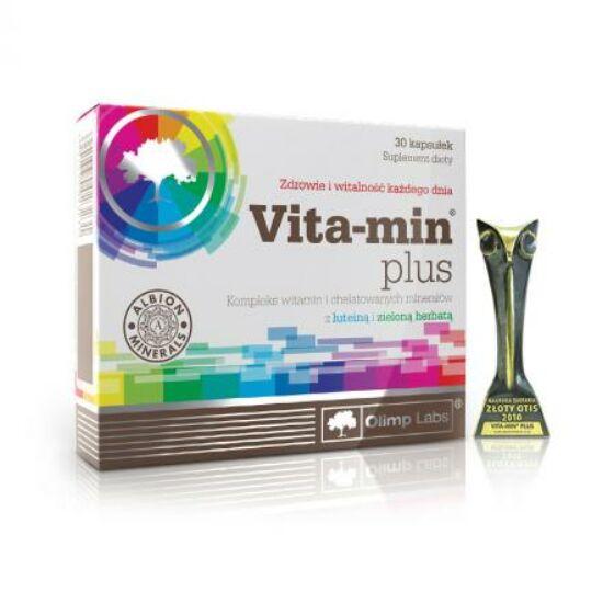 Olimp Labs® Vita-min®plus kapszula - Világszabadalommal védett, kelátos ásványokkal dúsított multivitamin