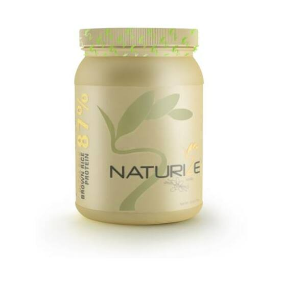 Vaníliás Naturize Ultra Silk 2.0 (87%) barnarizs-fehérjepor 620 g  26 adag