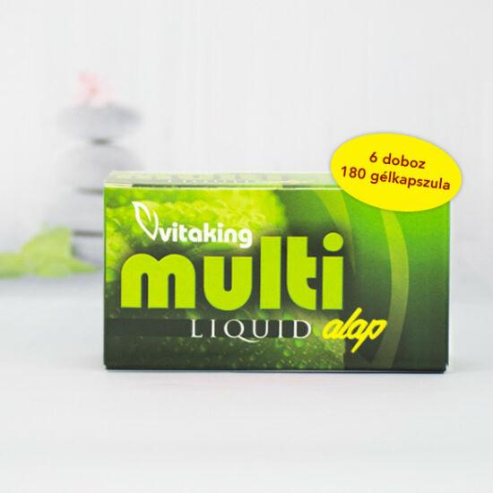 Vitaking Multi Liquid Alap multivitamin – 6 doboz (180)