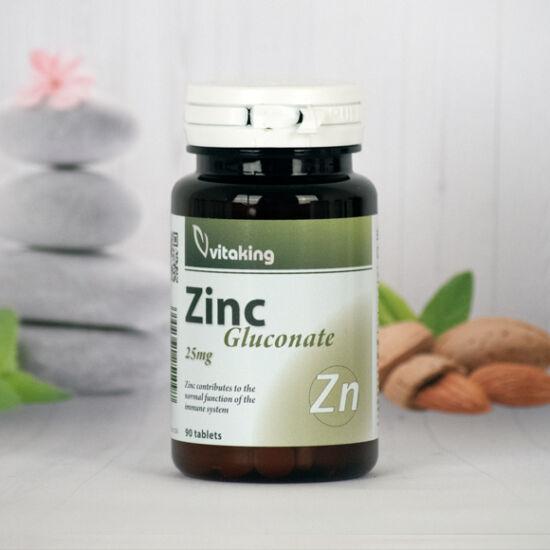 Vitaking Cink Glükonát 25 mg (90)