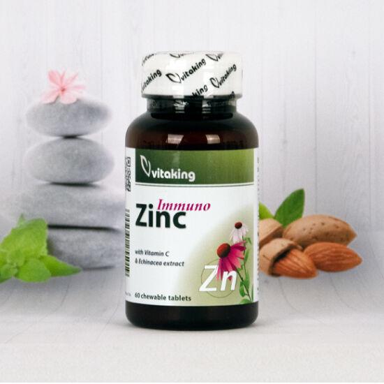 Vitaking Cink Immuno rágótabletta