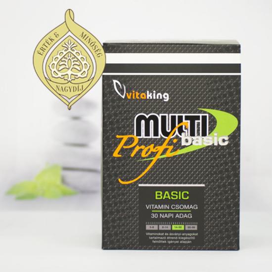 Vitaking Multi Basic Profi vitamincsomag