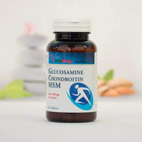 Vitaking Glükozamin + Kondroitin + MSM Komplex