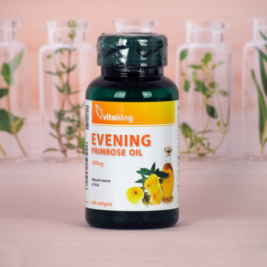 Vitaking Ligetszépe Olaj 500 mg (100)
