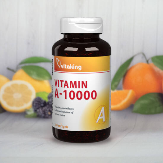Vitaking A-vitamin 10000NE