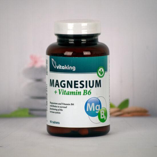 Vitaking Magnézium+B6 vitamin (90)