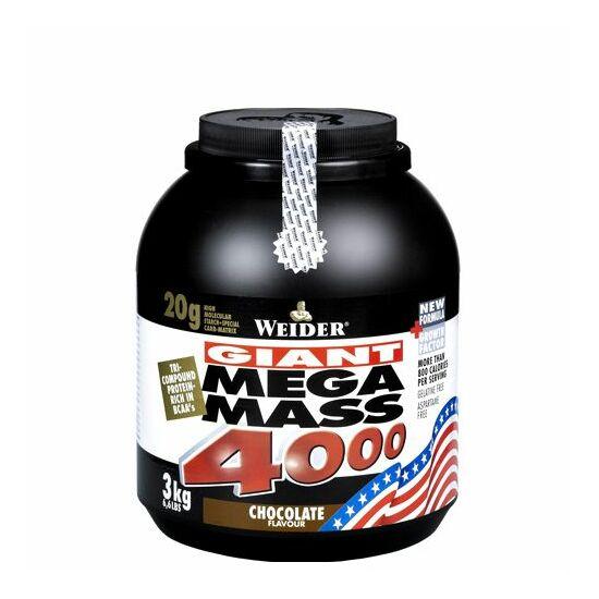 Weider - giant mega mass 4000 - 3000 g/ 3 kg