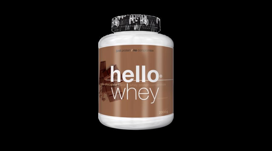 Hello Whey 2kg - Fehérjék - TápkiegNagyker Webáruház