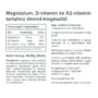 Kép 2/2 - Vitaking MAGNETRIO 90DB (MG+D3+K2)